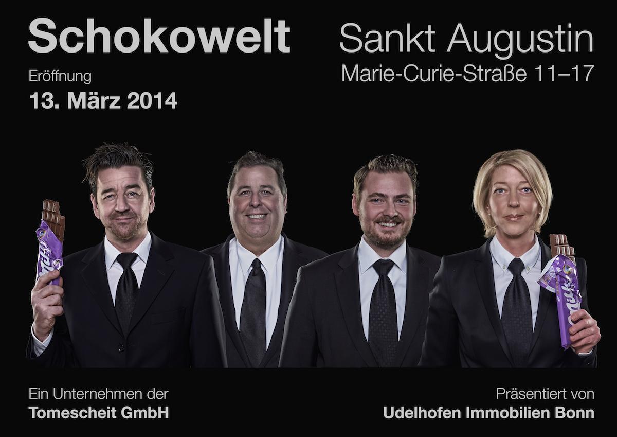 Business Kampagne für Udelhofen Immobilien Bonn