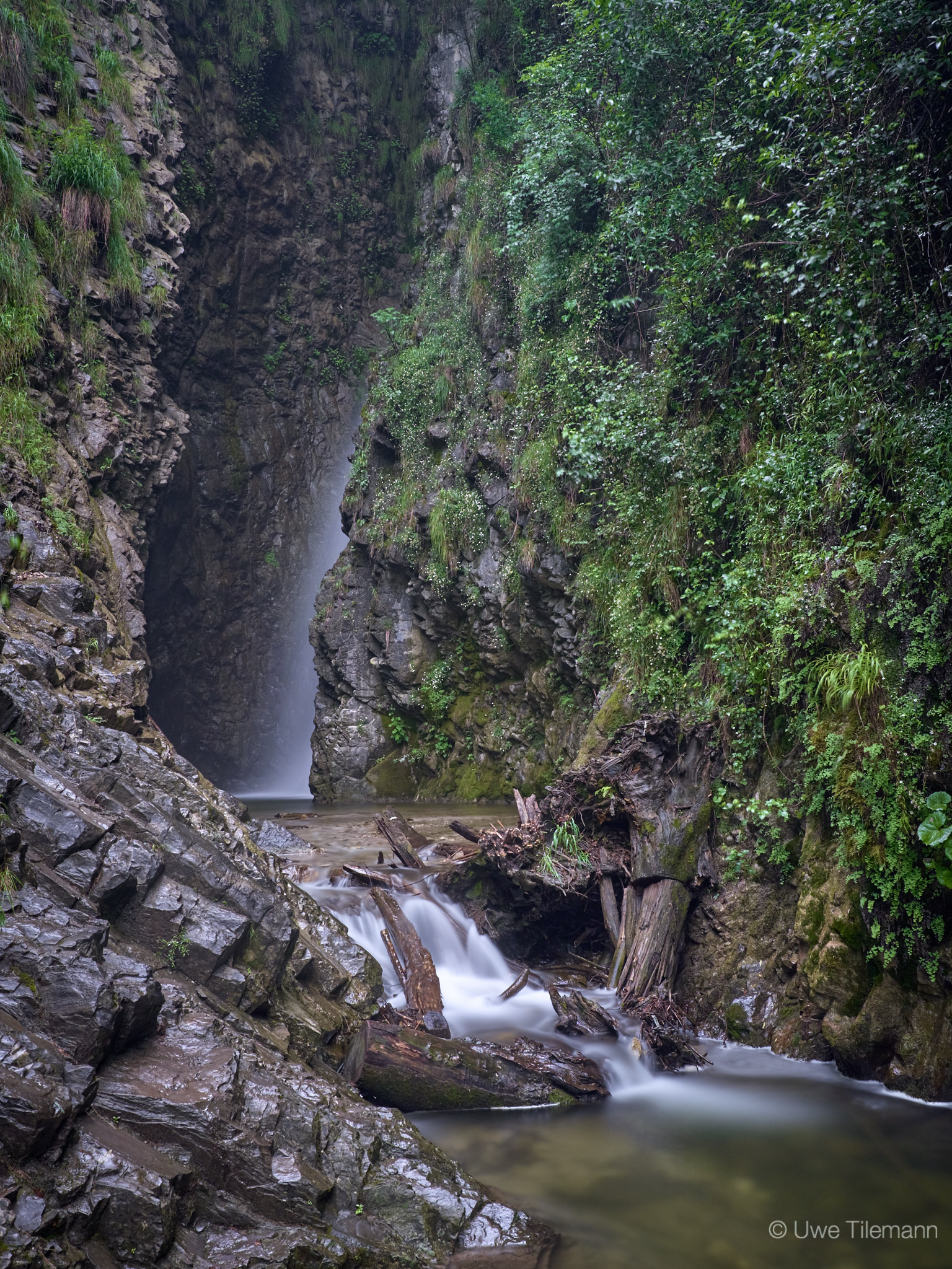 Wasserfall am Lago Maggiore