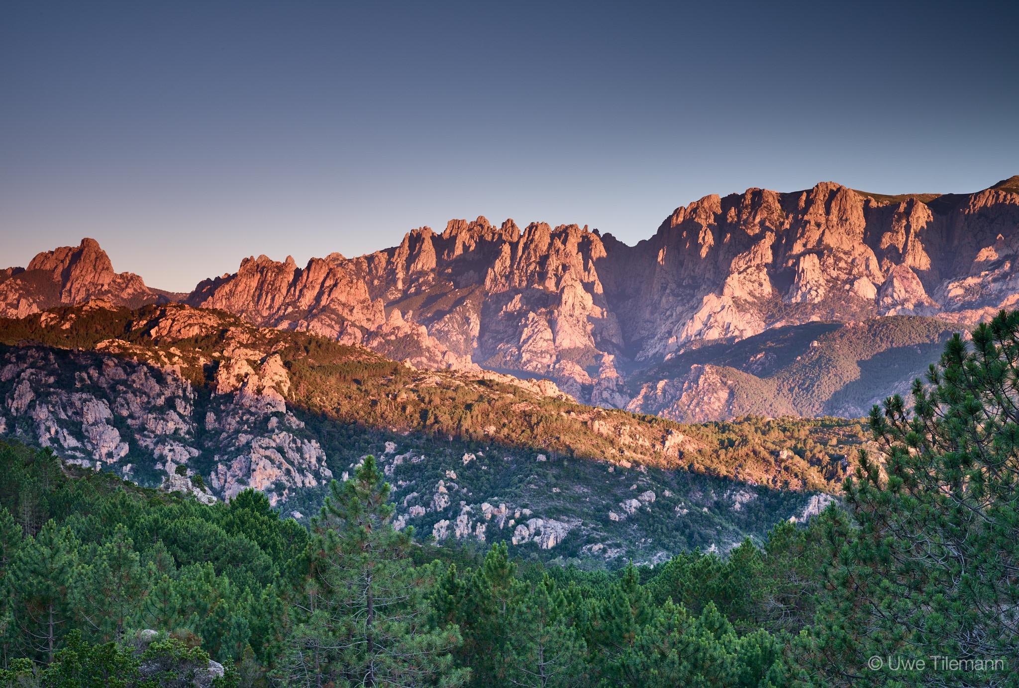 Bavella Gebirge auf Korsika