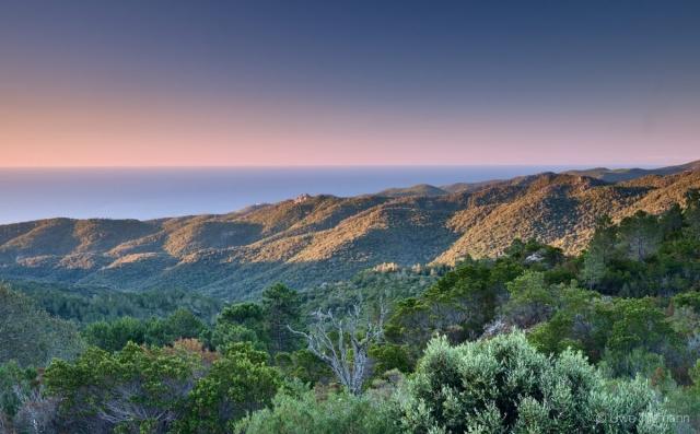 Sonnenaufgang in Korsika